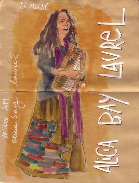 06-20-19-Spain-Madrid-Molar-Drawing of ABL by Alegria Cayetana Alvarez Alvarez
