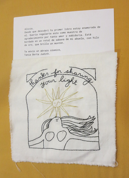 06-20-19-Spain-Madrid-Molar-embroidery and letter from Berta