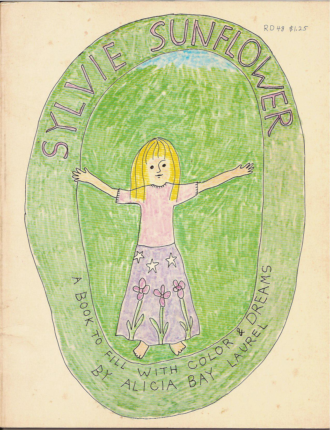 Sylvie Sunflower-front cover