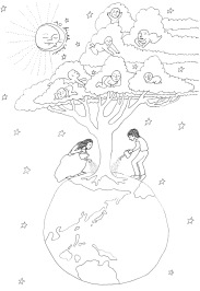 AO Birth Clinic tree drawing-black and white 90 dpi