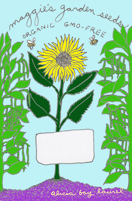 Maggie's Garden Seeds packet at 110 dpi-color-websized and cropped